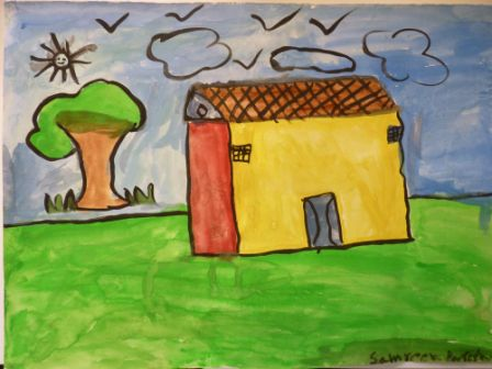 paint our world a selection of the children 39 s paintings